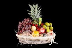 Compra Fruta de Temporada | CESTA SELECTA MIMBRE | FrutasNieves