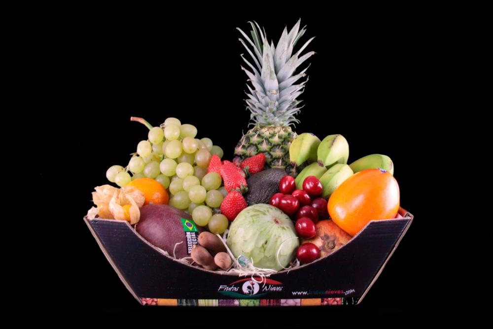 Compra Fruta de Temporada | CESTA SELECTA CARTON | FrutasNieves