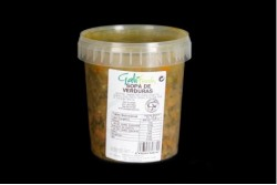Disfruta de productos ya elaborados | SOPA VERDURA  840 GR | FrutasNieves
