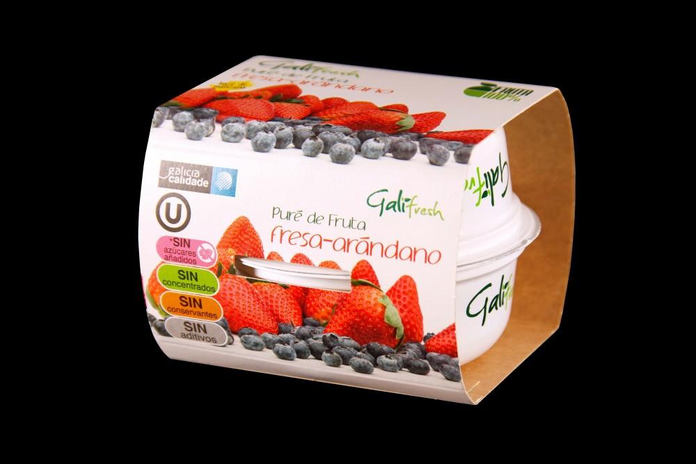 Disfruta de productos ya elaborados | PACK PURE ARANDANO-FRESA | FrutasNieves
