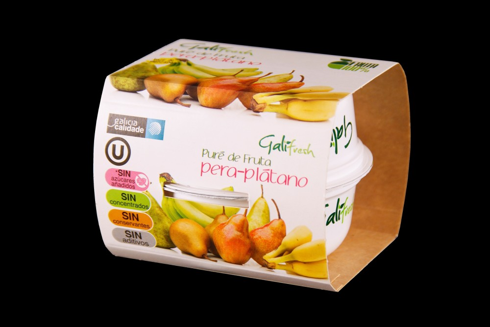 Disfruta de productos ya elaborados | PACK PURE PLATANO-PERA | FrutasNieves