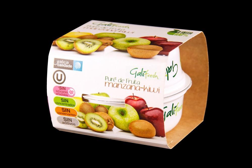 Disfruta de productos ya elaborados | PACK PURE KIWI-MANZANA | FrutasNieves