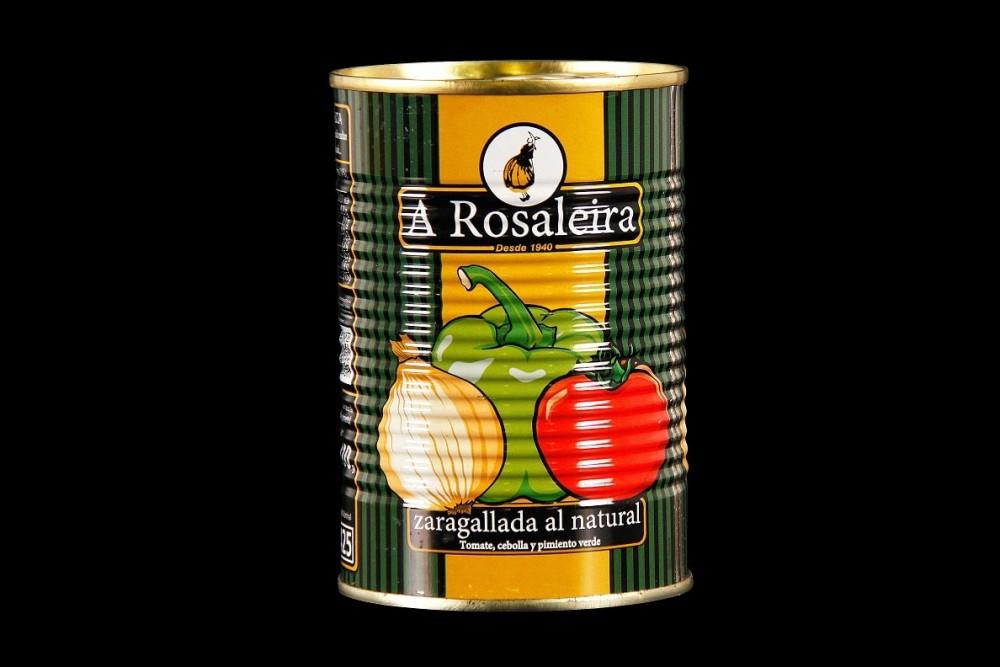 Disfruta de productos ya elaborados A Rosaleira | ZARAGALLADA NATURAL LATA 1/2 KG | FrutasNieves