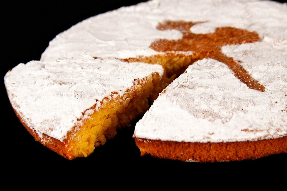 Disfruta de productos ya elaborados |TARTA DE SANTIAGO | FrutasNieves