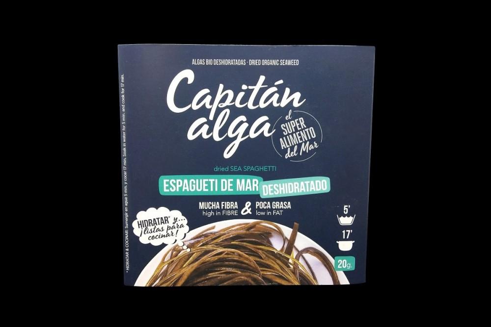 Disfruta de productos del mar | ESPAGUETI DE MAR Deshidratado BIO| FrutasNieves