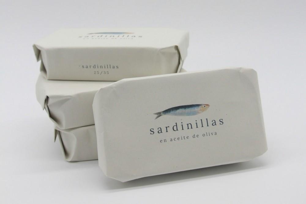 Disfruta de productos del mar | SARDINILLAS EN ACEITE DE OLIVA| FrutasNieves